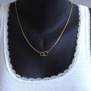 chaine double anneau