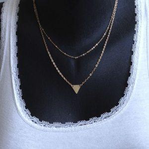 pendentif en triangle