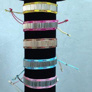 bracelet cordon perles