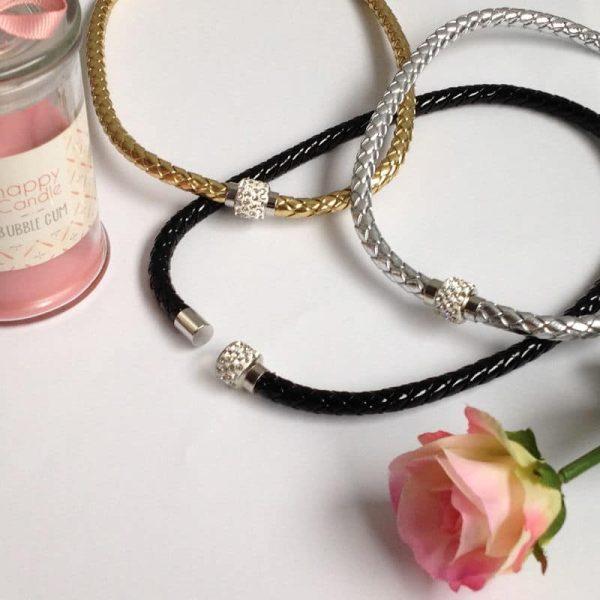 collier argente aimante