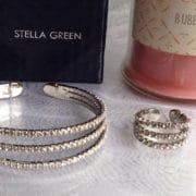 parure cristal bracelet bague