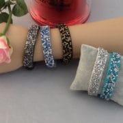 bracelet brillants et strass