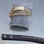 bracelet fermoir bonton pression