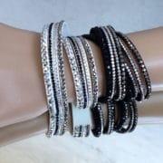 bracelet strass