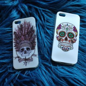 iphone coque tete de mort