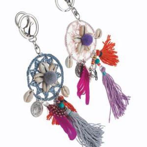 bijoux de sac coquillages