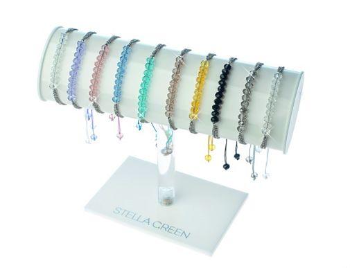 bracelet cristal et cordon
