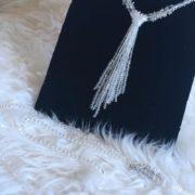 sautoir noeud de perles lolilota