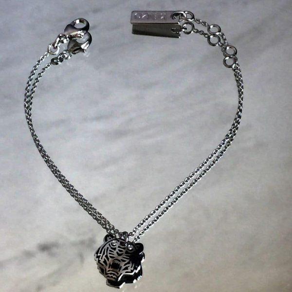 bracelet en argent kenzo le tigre